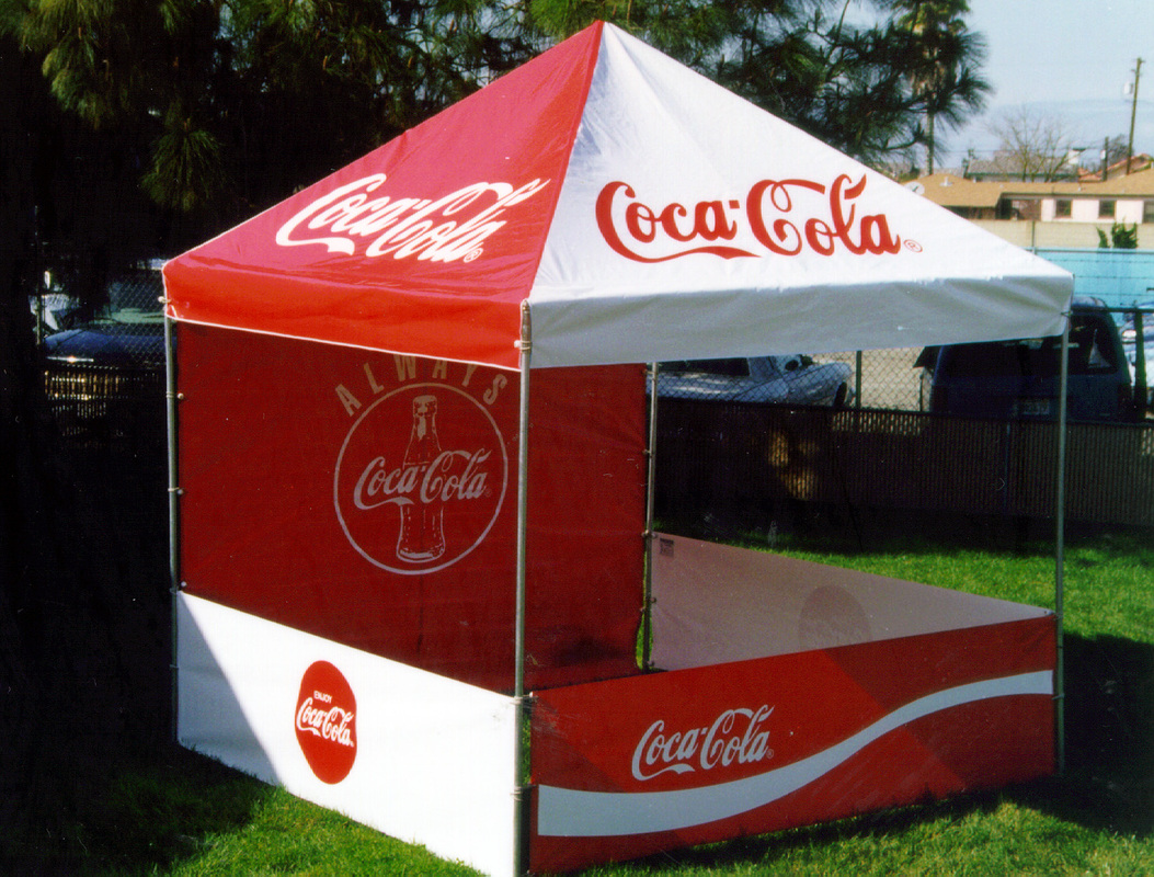 Get your customers attention by adding your logo to advertise your products! Customize your booth with your logo or graphics on the tent top valance ... : food canopy tent - memphite.com