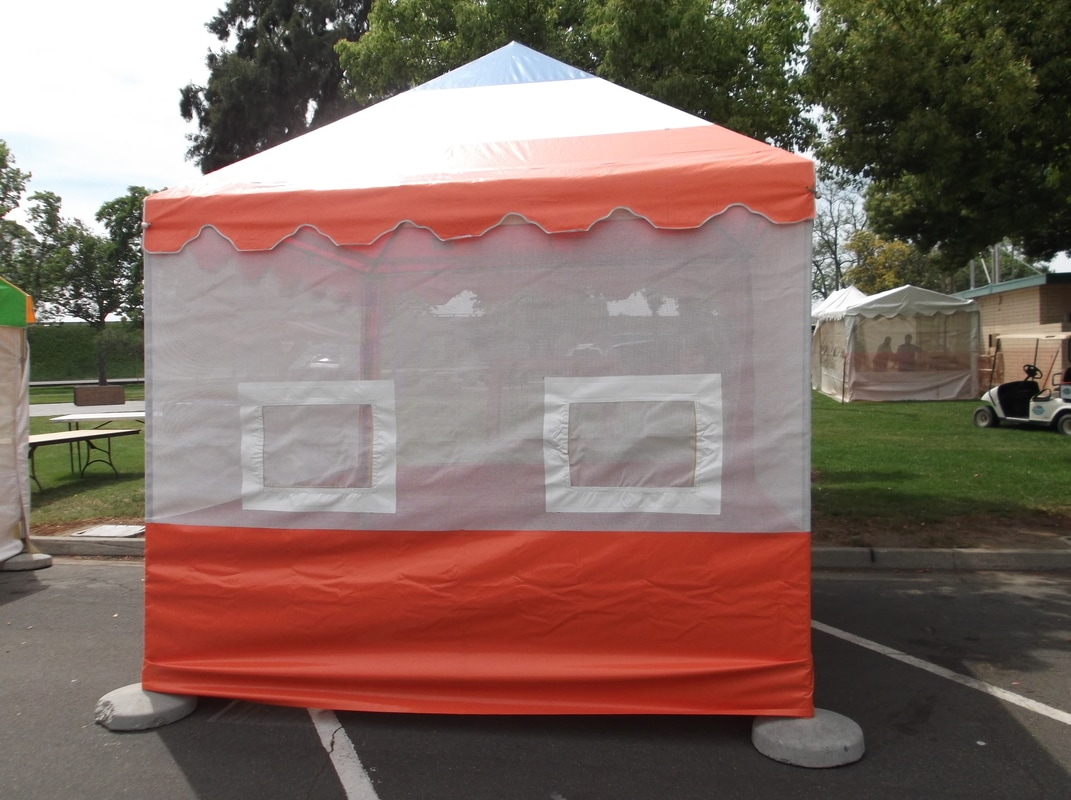 Food Booth Tents by A u0026 L Products Inc. 800-955-TENT (8368) - A u0026 L Products 10x10 Food Booth Tents u0026 Vendor booth Tents & Food Booth Tents by A u0026 L Products Inc. 800-955-TENT (8368 ...
